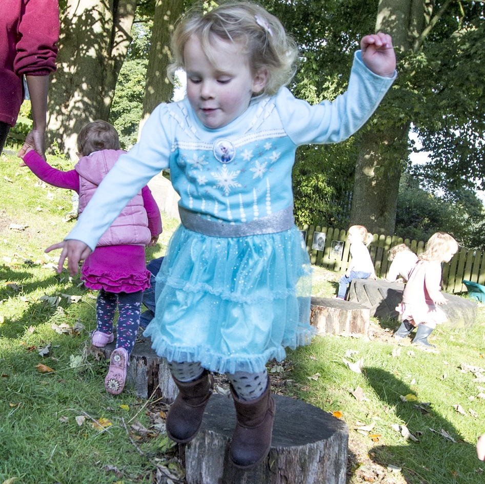 Dance lessons at Belmont Grosvenor Magic Tree Nursery near Harrogate