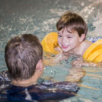 Swimming lessons at Magic Tree Nursery near Harrogate